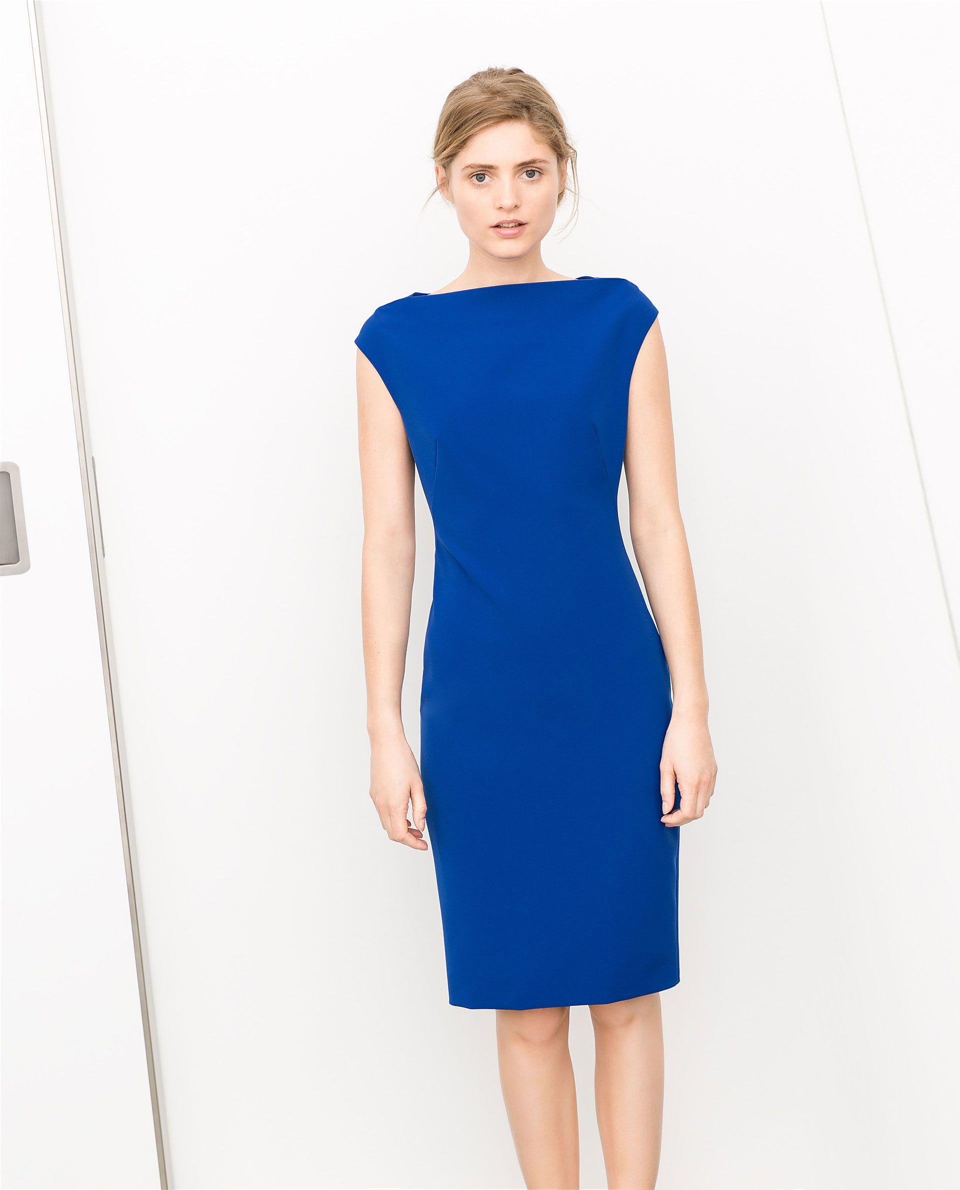 Blue dress zara clothing wedding dress pinterest blue dresses blue dress zara clothing ombrellifo Image collections