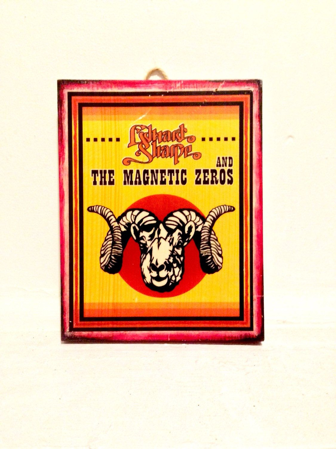 Edward sharpe and the magnetic zeros wood wall hanging handmade ...