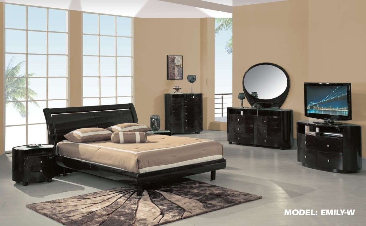 Contemporary Bedroom Furniture Designs Cool Contemporary Modern Bedroom Set W Platform Bed  Global Furniture Design Inspiration