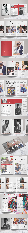 Fashion Magazine Template InDesign INDD | Best Magazine Templates ...
