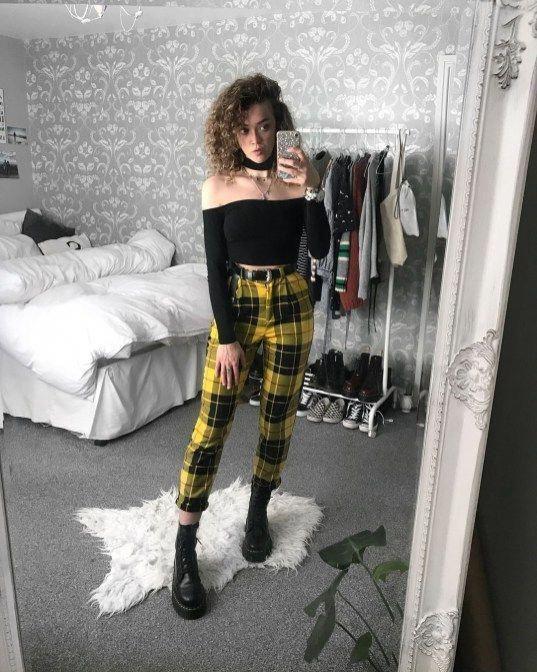 Grunge Outfit Ideen für diese Springstyle15 #womensfashionedgyclosetideas - #diese #grunge #ideen #outfit -
