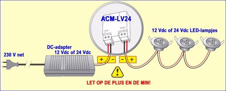 ACM-LV24: eindelijk een oplossing voor het dimmen van LED-lampjes ...