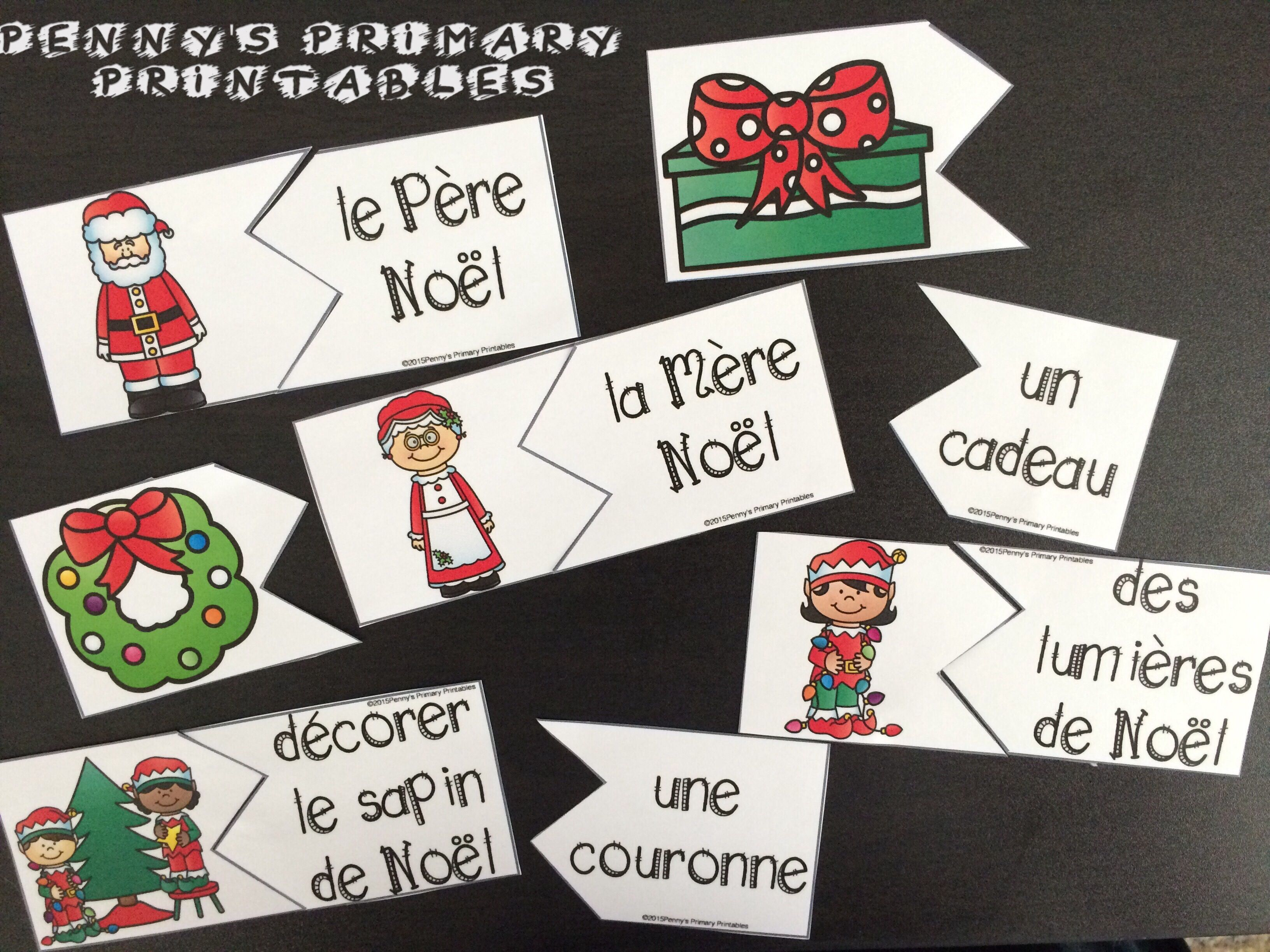 French Christmas Write The Room Noel