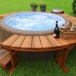Construire une piscine hors sol en bois