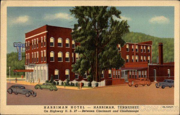 Hotel Harriman Tn