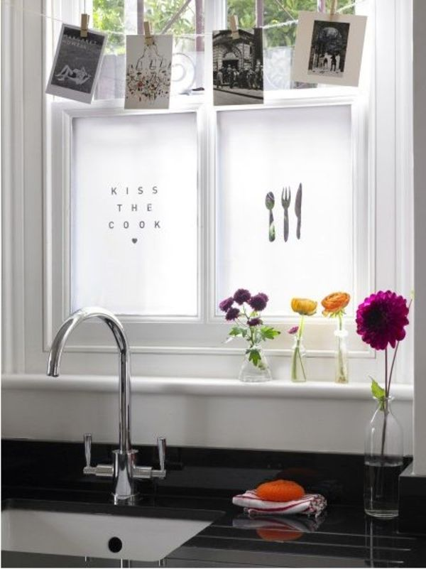 Fensterfolie Küche durch fensterfolie die fenster verschönern und verdunkeln | fenster