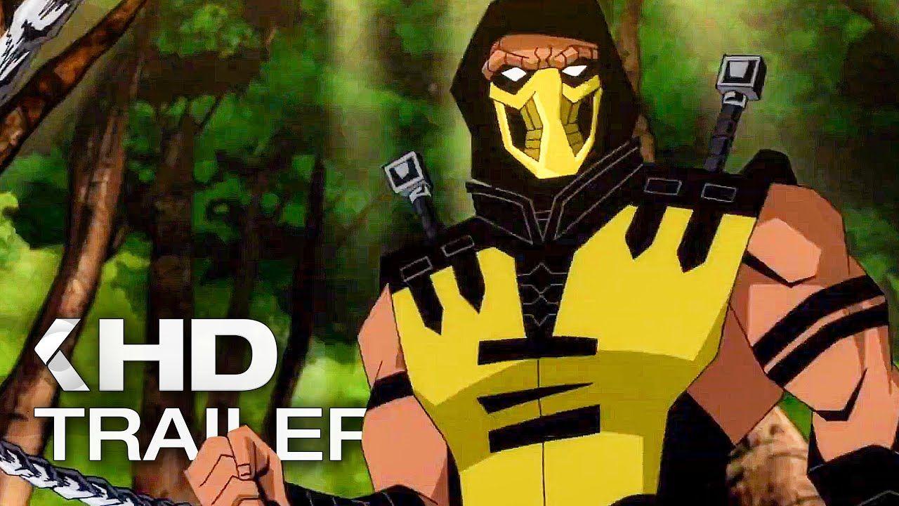 MORTAL KOMBAT LEGENDS Scorpion's Revenge Trailer (2020