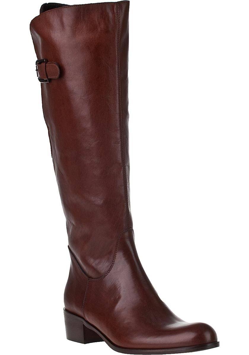 Sesto Meucci for Jildor 81207F Riding Boot Tiziano Rust Leather - Tan 5.5  Medium