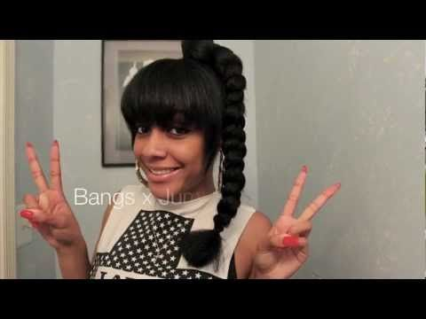 dookie braid w/ bangs