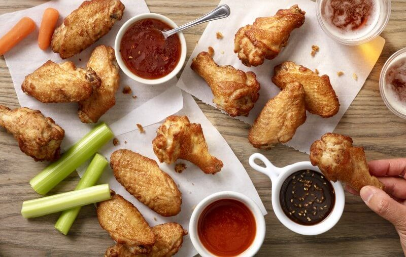 Take Out Crispy Wings Campaigns Foster Farms Crispy