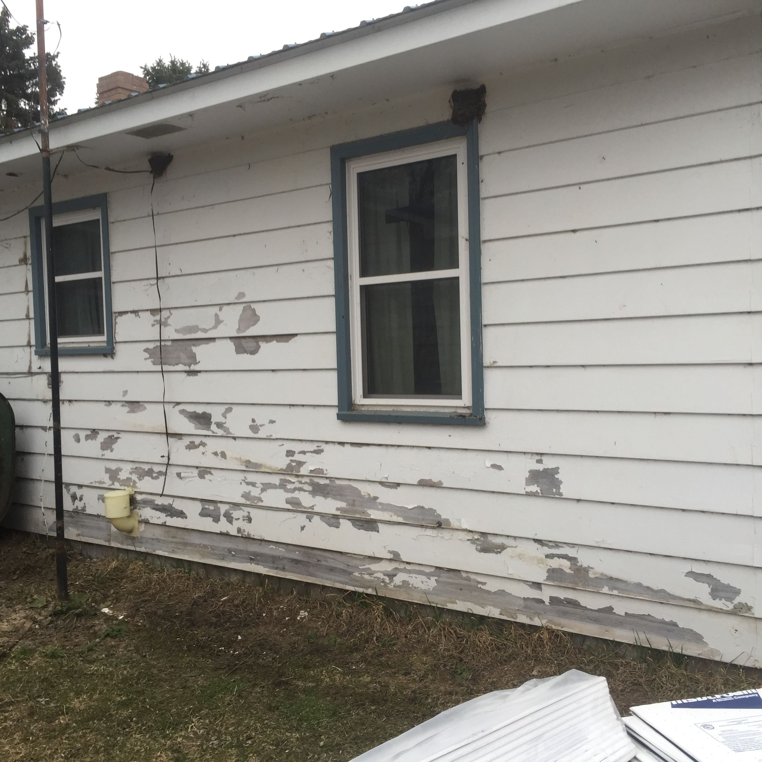 Peeling Paint? Time for an upgrade. Steel siding