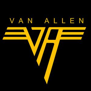 Monsters Of Grok Rock And Roll Meets Science I Have The Van Allen Van Halen Shirt Van Halen Band Logos Album Cover Art