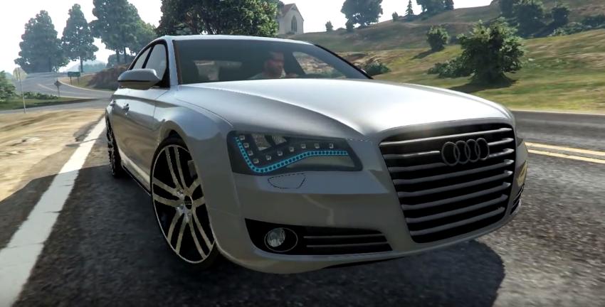 Audi A L W Vehicle Mod GTA Mods GTA Vehicle Mods - Audi car gta 5