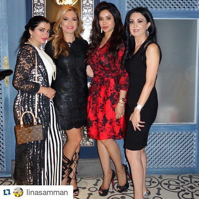 #Repost @linasamman with @repostapp ・・・ ❤️ إمرأة راقيه مثقفة جميلة شخصيتها رائعة و صاحبة قلب كبير .. شكرا حبيبتي لينا السمان على دعوة العشاء  و على الجمعة الحلوة  .. @hebarumhein @linasamman  #lojain #lojain_omran #celebrity #Luxury #Elegancy #Dubai #لجين #لجين_عمران