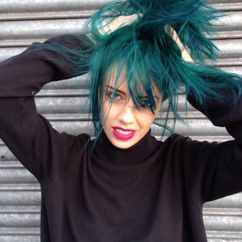 Hair by Loren Miles for Bleach London  Boho u Alternative Fashion