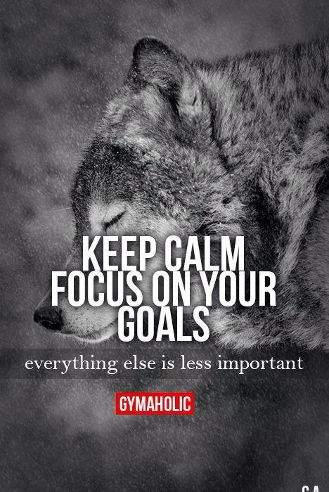 focus on your goals quotes motivation fitness motivation