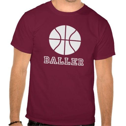 Baller Retro #Basketball T-shirt. #tshirts #clothing #sports