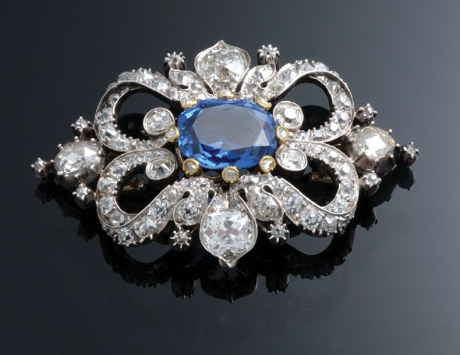 Empress Eugenie Of France This Brooch Is Victorian