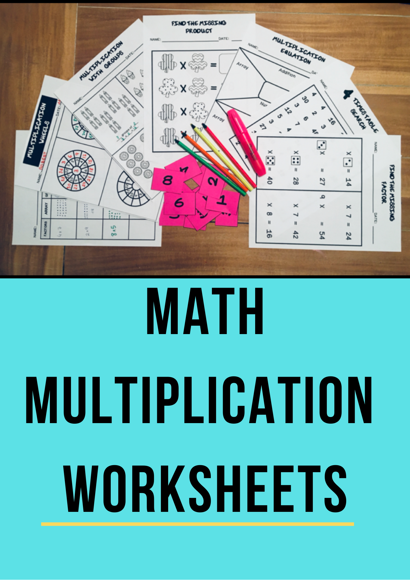 2nd 3rd Grade Multiplication Worksheets Printables