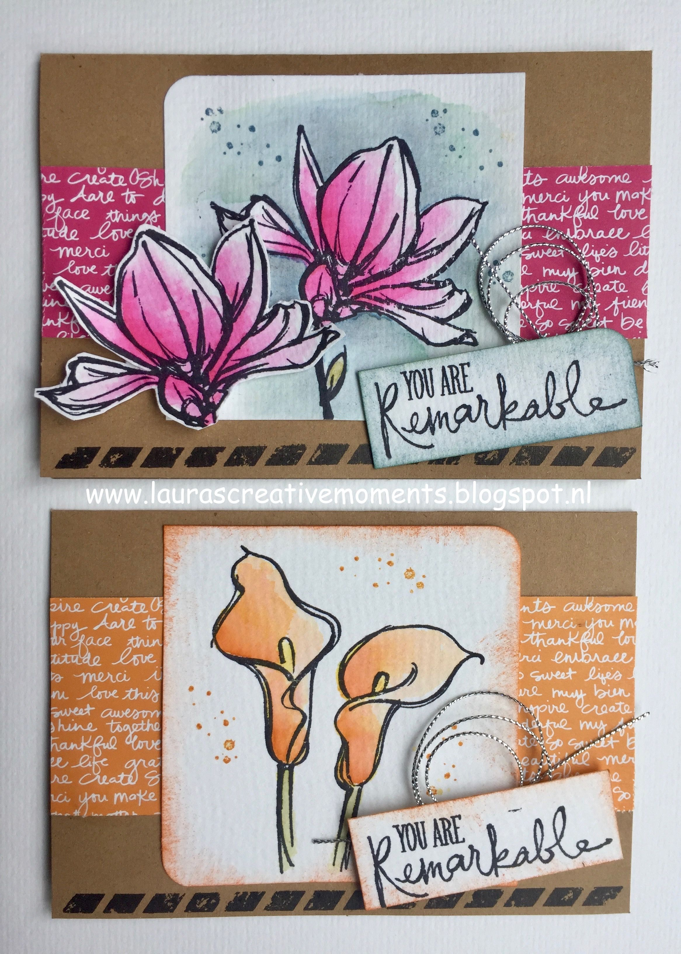 """""""Remarkable You"""", Stampin' Up! - card idea"""