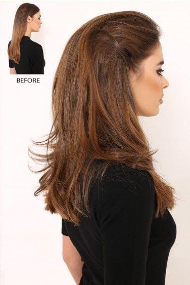 Textured Flicky Crown Boost Volume Hair Piece