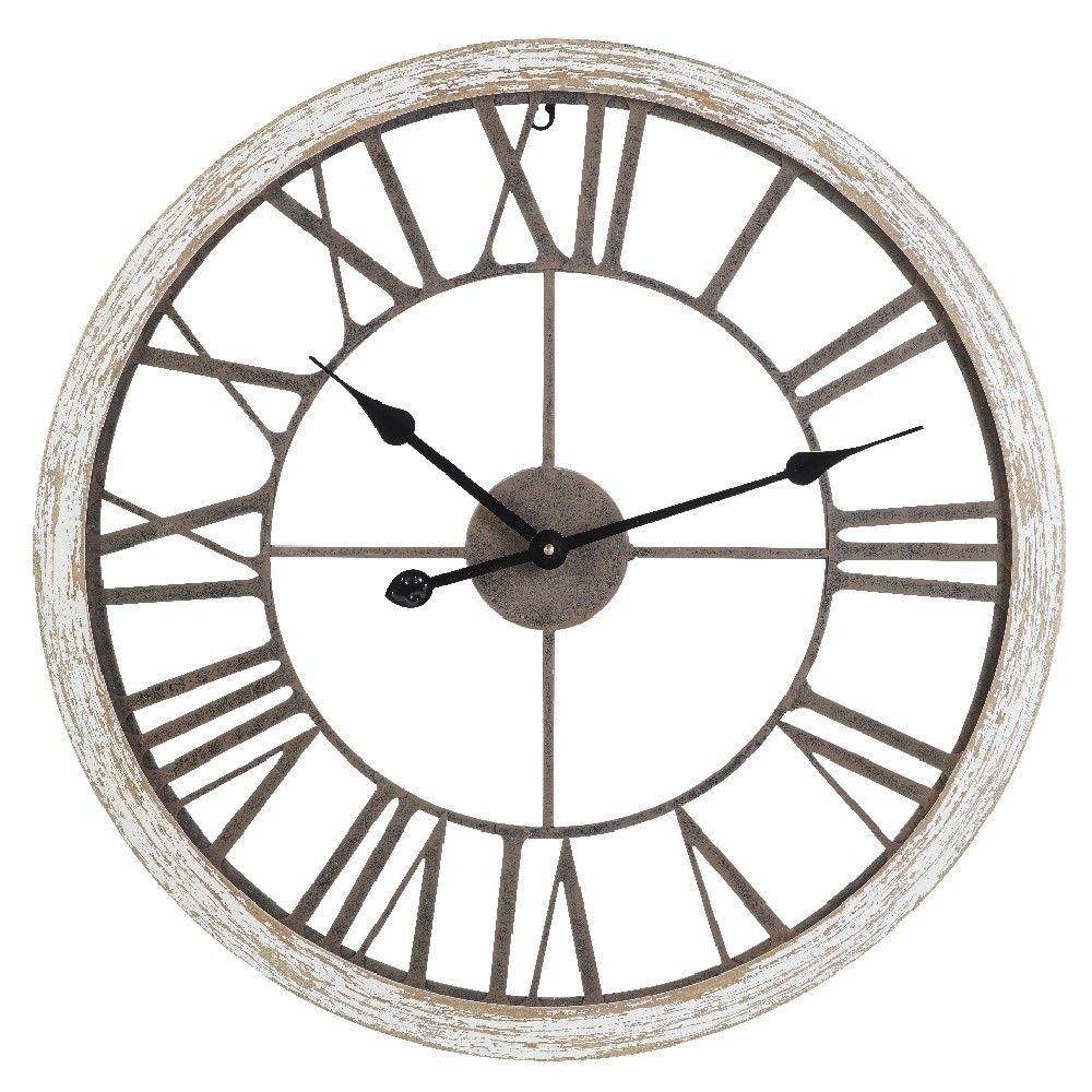 Horloge Joy Effet Vieilli Horloge Decoration Murale Decoration Gifi Horloge Parement Mural Horloge Exterieure