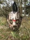 Jason Voorhees Wooden Blood Drip Custom Hand Painted Mask  #Costume #jasonvoorhees