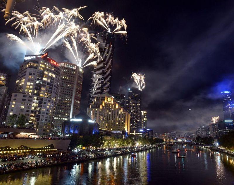 2014 new year celebrations around the world