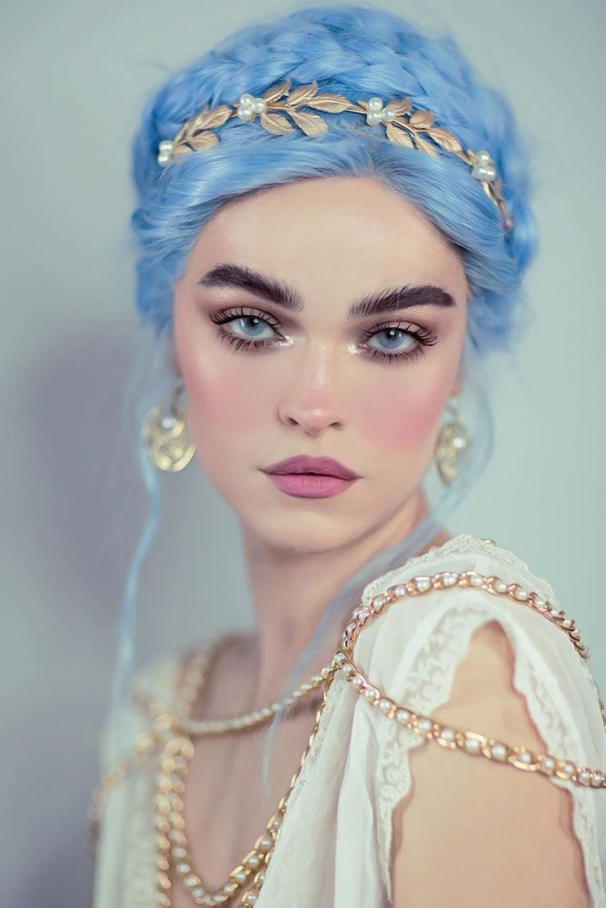 30 Scary Halloween Hairstyles for Long Hair   LoveHairStyles – model