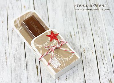Stempel-Biene: Kleine weihnachtliche Weihnachtsgoodies