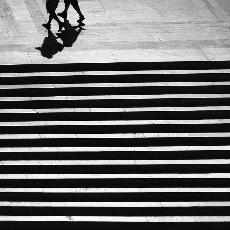Roman shadows - Rome, Rome