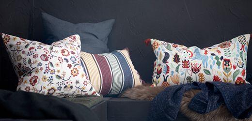 Mit Kissen und Decken kannst du den Stil deines Zuhauses leicht verändern - ohne Wandfarbe und Bohrmaschine.