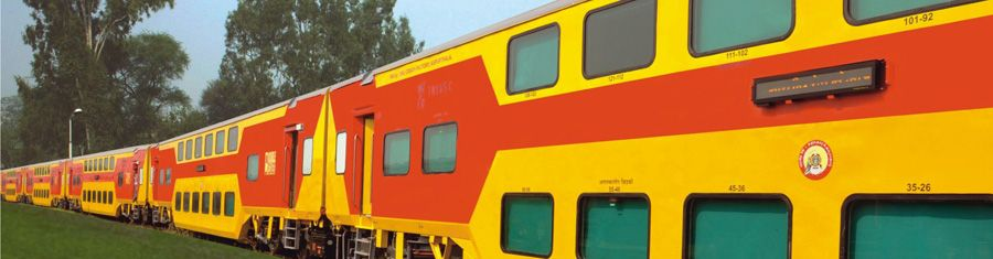 Irctc Launches Ac Double Decker Trains In May Train Indian Railways Chandigarh