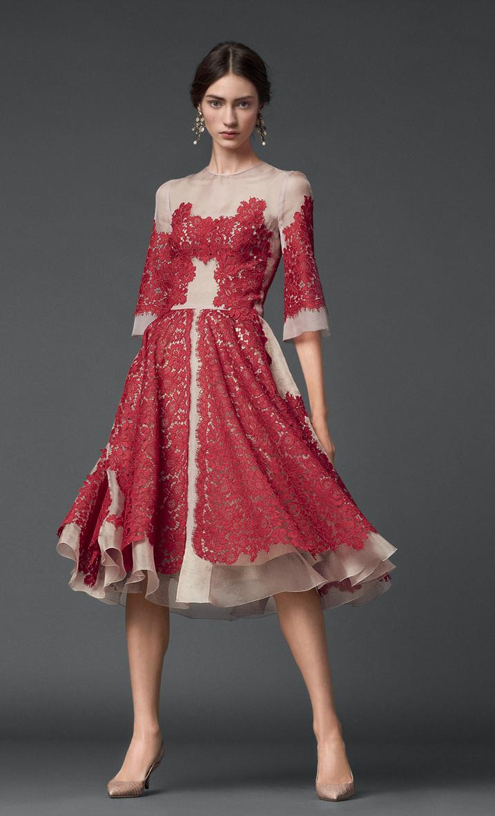 crveno i bijelo. ruska bajka. ♔d&g♔ | kleider mode