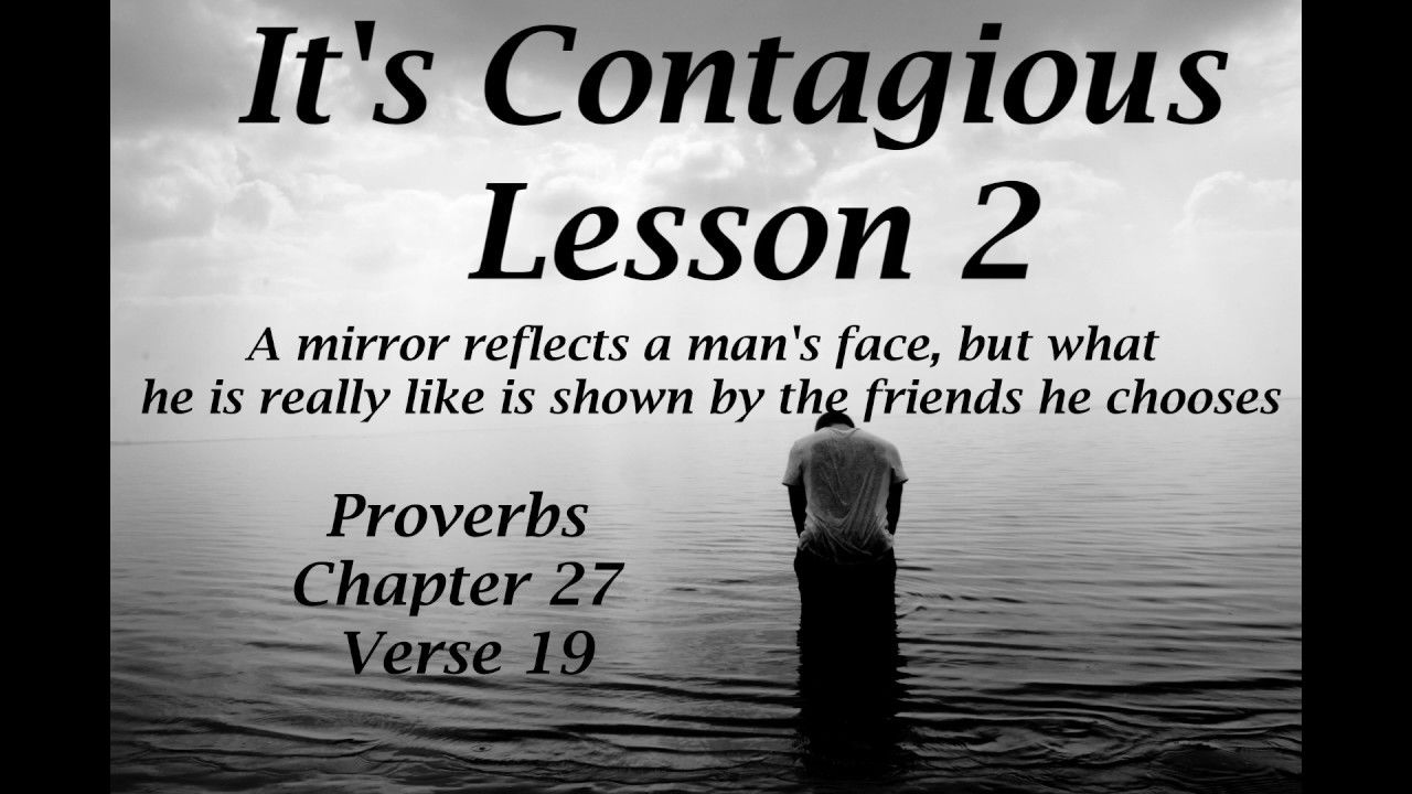 The Word..It's Contagious Lesson 2 Life application
