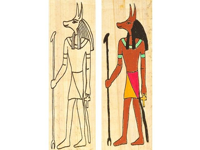 lesezeichen basteln anubis gestalten gypten unterricht kindergeburtstag agypten gypten. Black Bedroom Furniture Sets. Home Design Ideas
