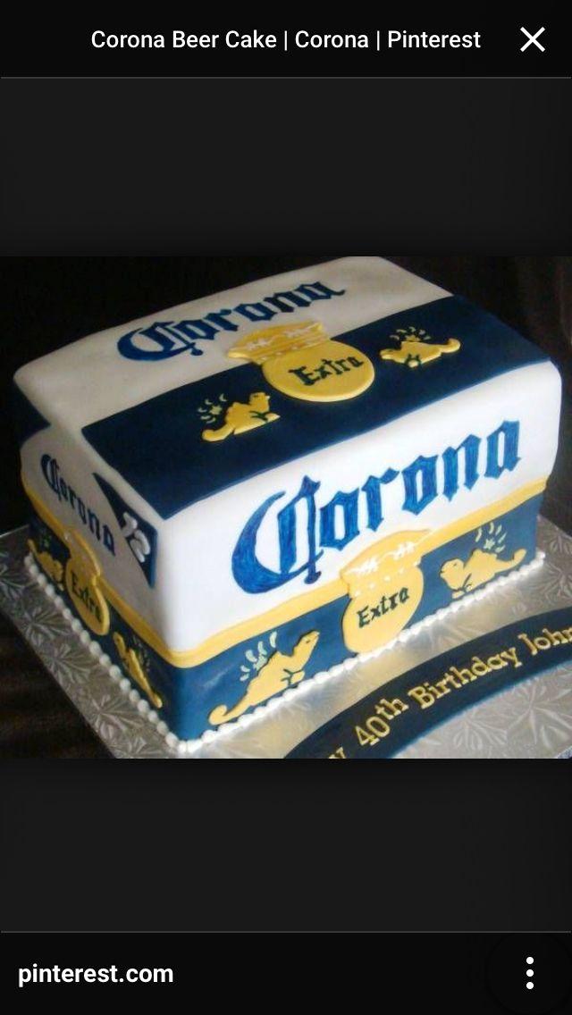 Instead it would b modelos Cakes Pinterest Cake Corona beer