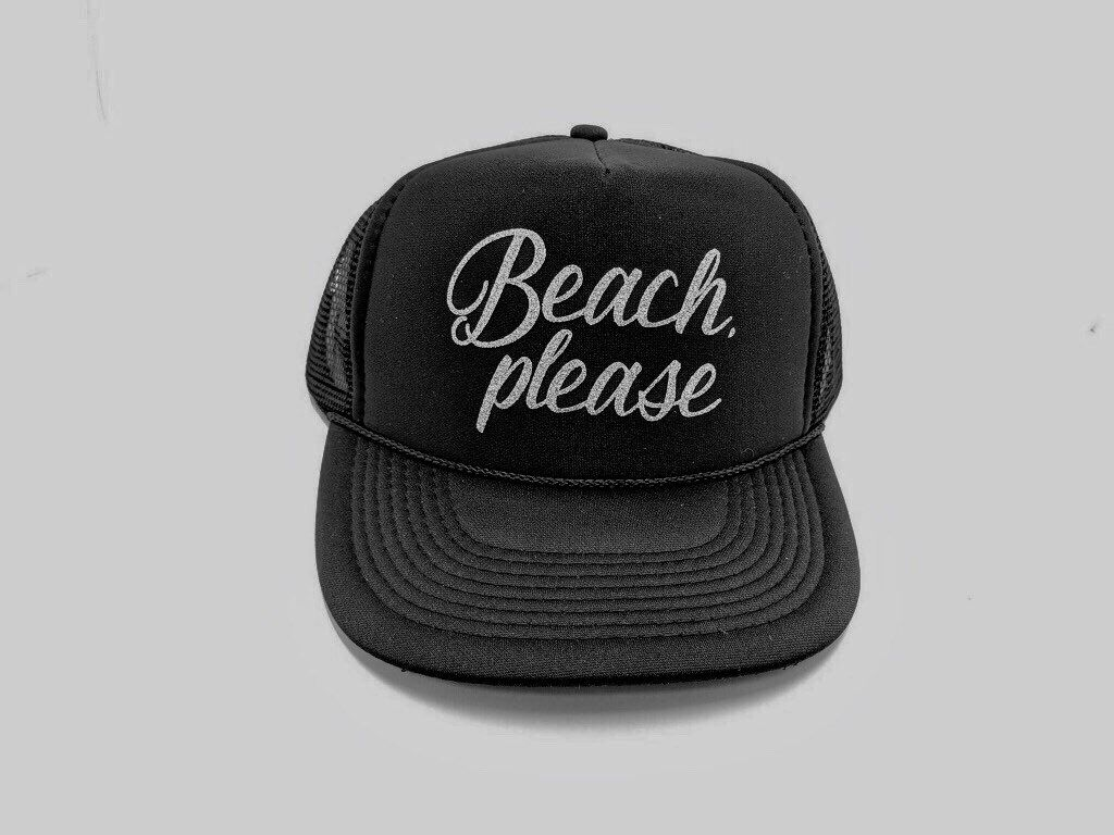 08115be4c Excited to share this item from my #etsy shop: Beach Please Hat ...