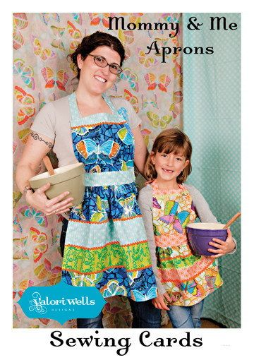 FREE SHIPPING Valori Wells Mommy & Me Aprons by CraftyMtnGirl, $4.99 ...