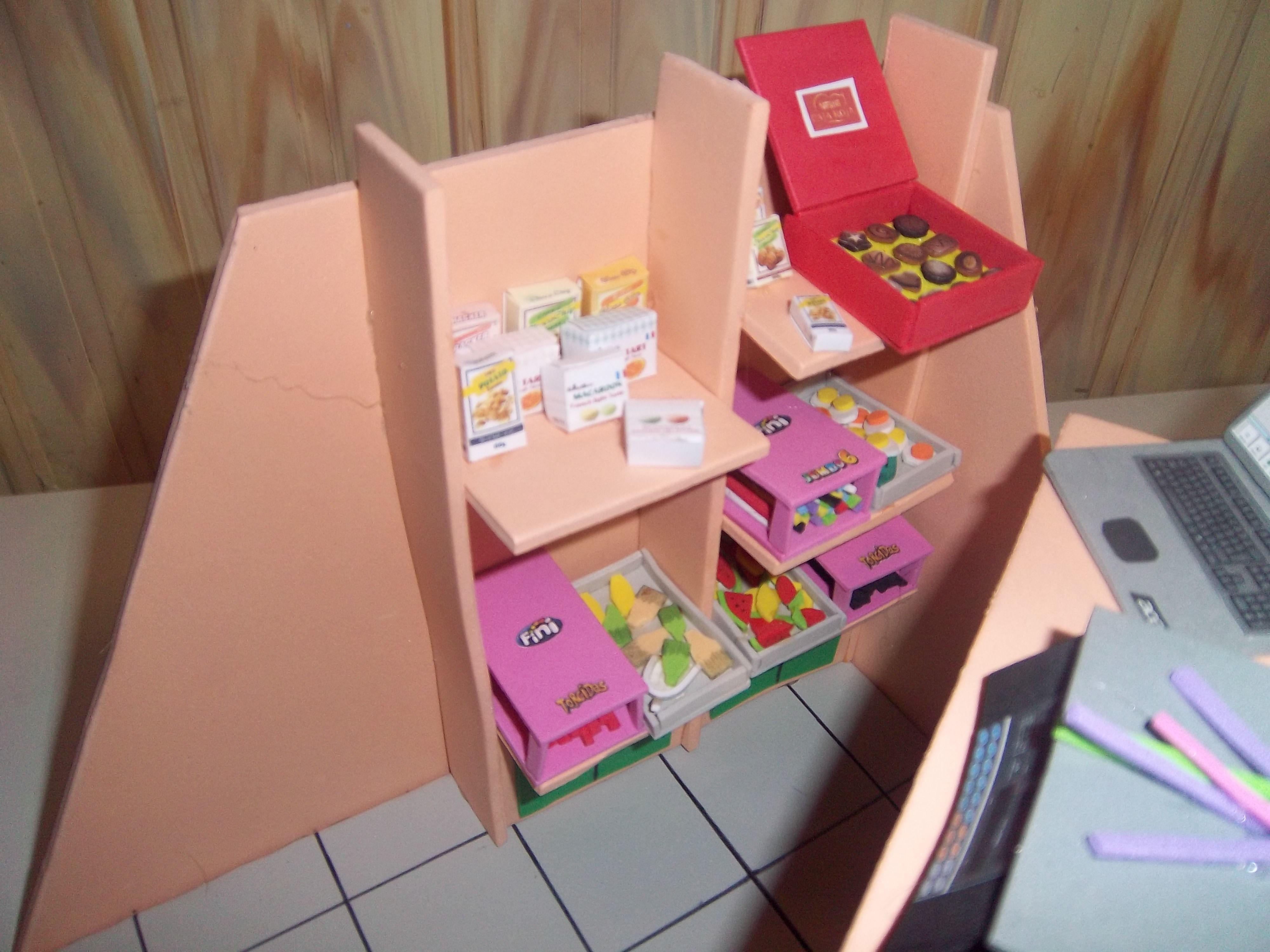 Tienda De Golosinas Muebles Miniaturas Pinterest Dolls # Muebles Para Fofuchas
