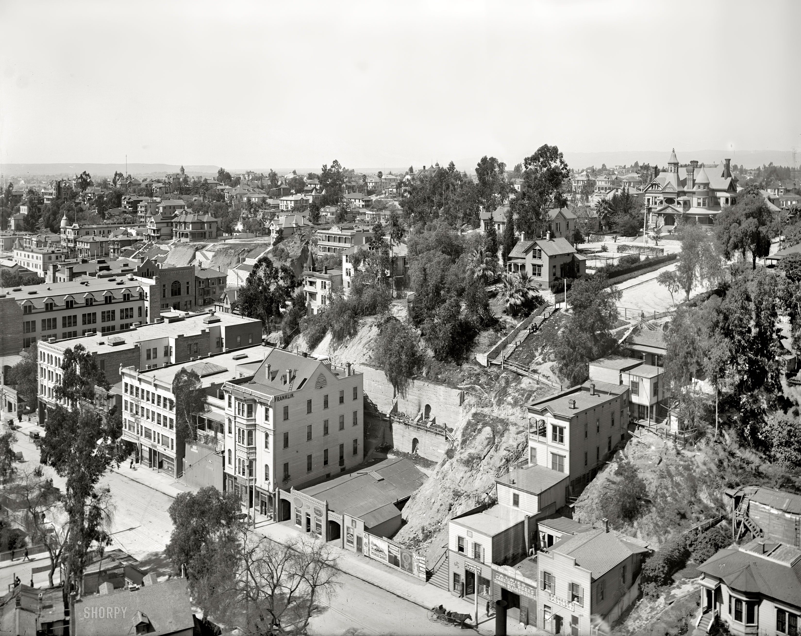 Shorpy Historical Photo Archive Los Angeles 1899 Los Angeles History Vintage Los Angeles California History