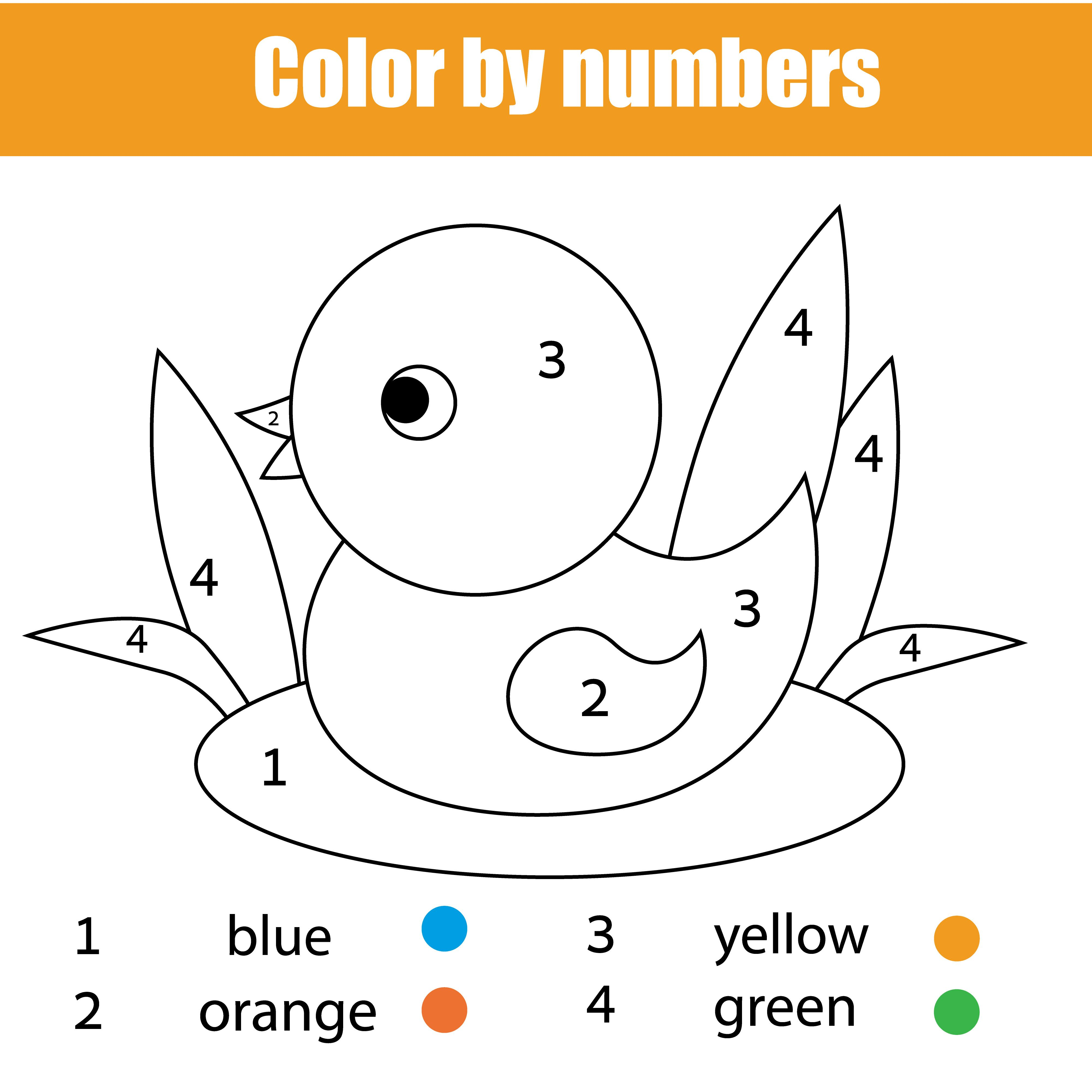 Homeschool Worksheets Free Maths Worksheets Learning Colors Kindergarten Coloring Pages Color By Numbers