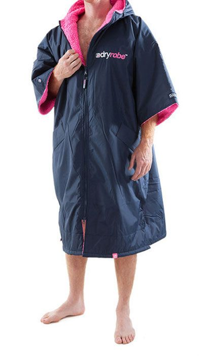 Keep your body warm and dry while #swimming with #Dryrobe