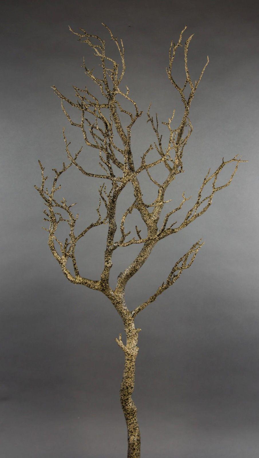 Kunstlicher Dekoast Dekozweig Holzimitat Dieser Sehr Hochwertige Kunstliche Dekoast Holzimitat Hat Eine Lange Von Ca 95 Dekozweige Zweige Seidenblumen
