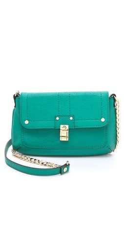 leather mini bag / milly
