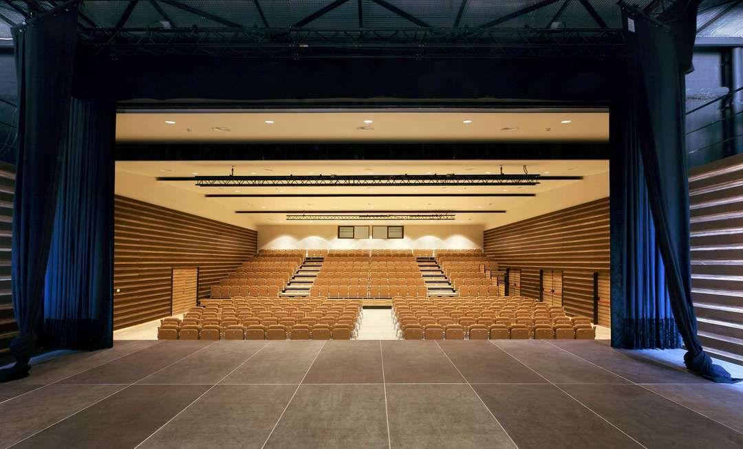 Espai Ridaura Girona Green Roof Auditorium
