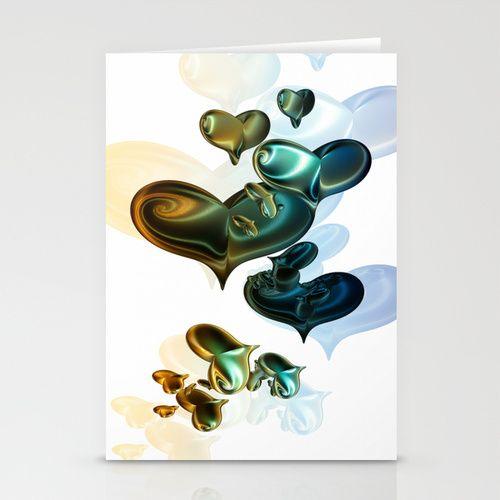 von Herzen II Stationery Cards