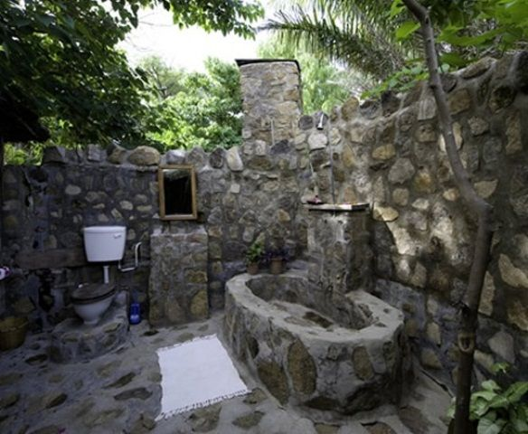 Wonderful Stone Bathroom Designs DigsDigs This Is Sort Of - 50 wonderful stone bathroom designs