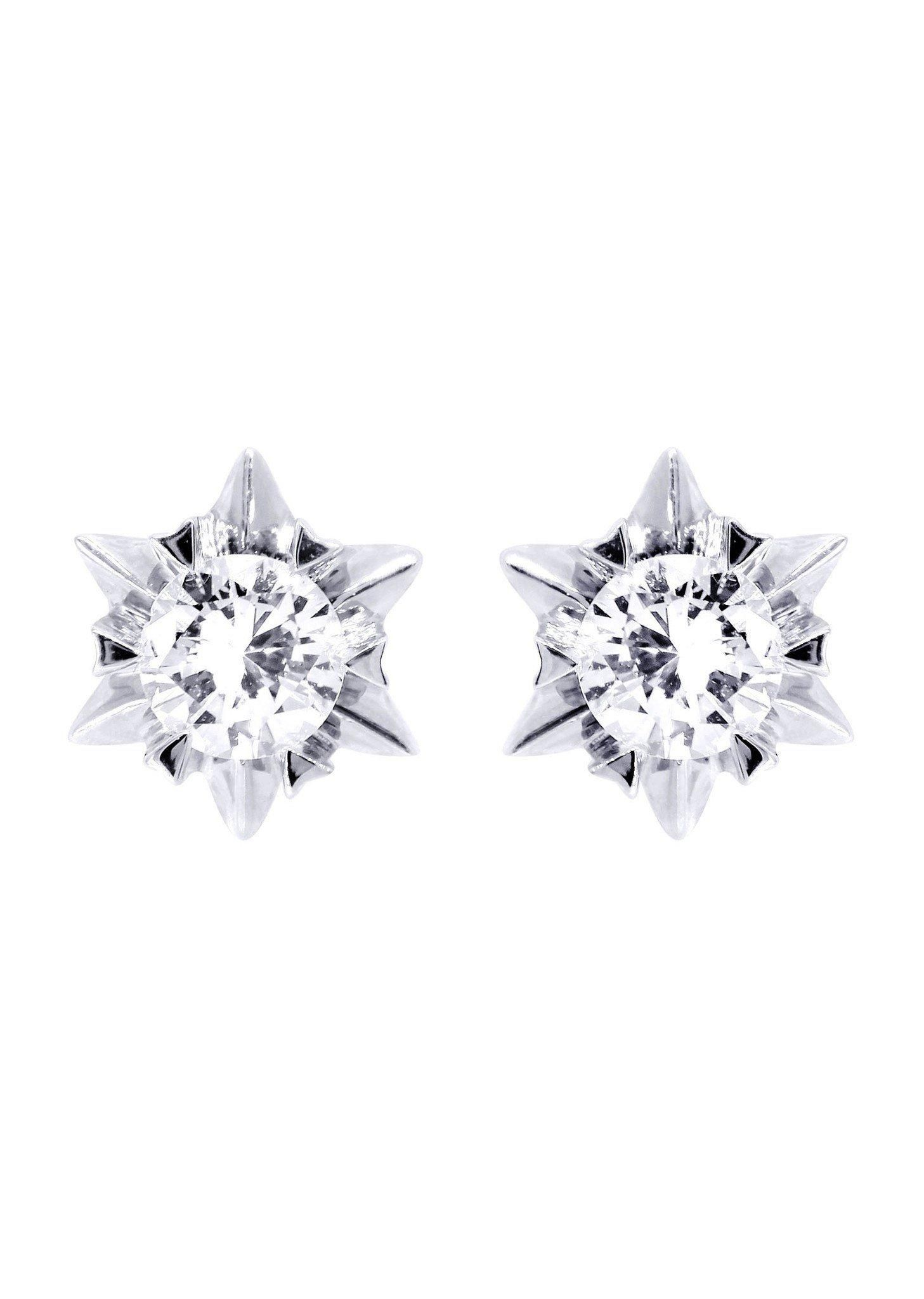 Frostnyc frost nyc stud diamond earrings for men k white gold