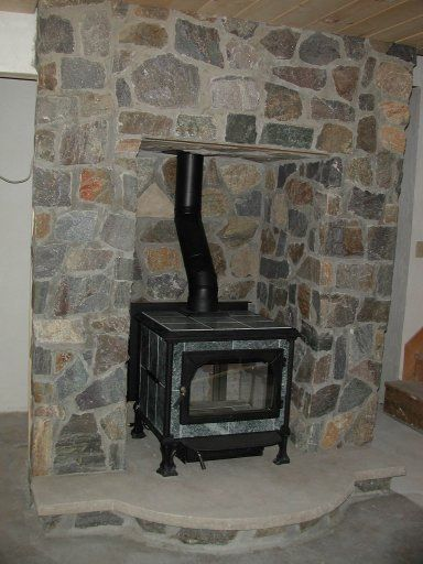 basement ideas with wood stove pictures to pin on pinterest